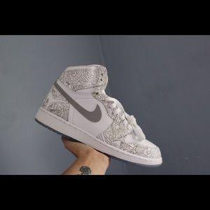 Air Jordan laser 1s